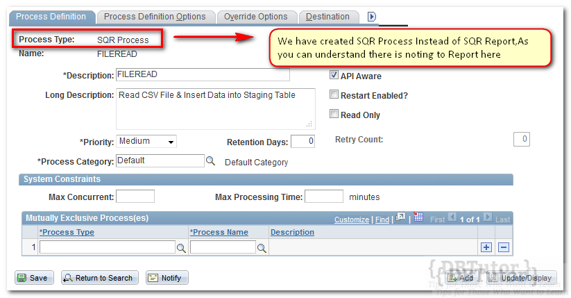 PeopleSoft SQR | DBTutor - Tips for Those Who Want to Learn