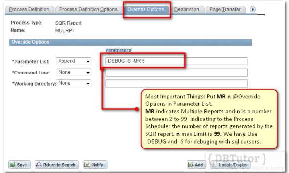 Most Important: You need to specified at Override Tab, else multiple report will not gerenate